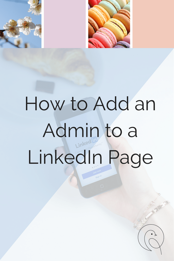 How to add an admin to a LinkedIn page