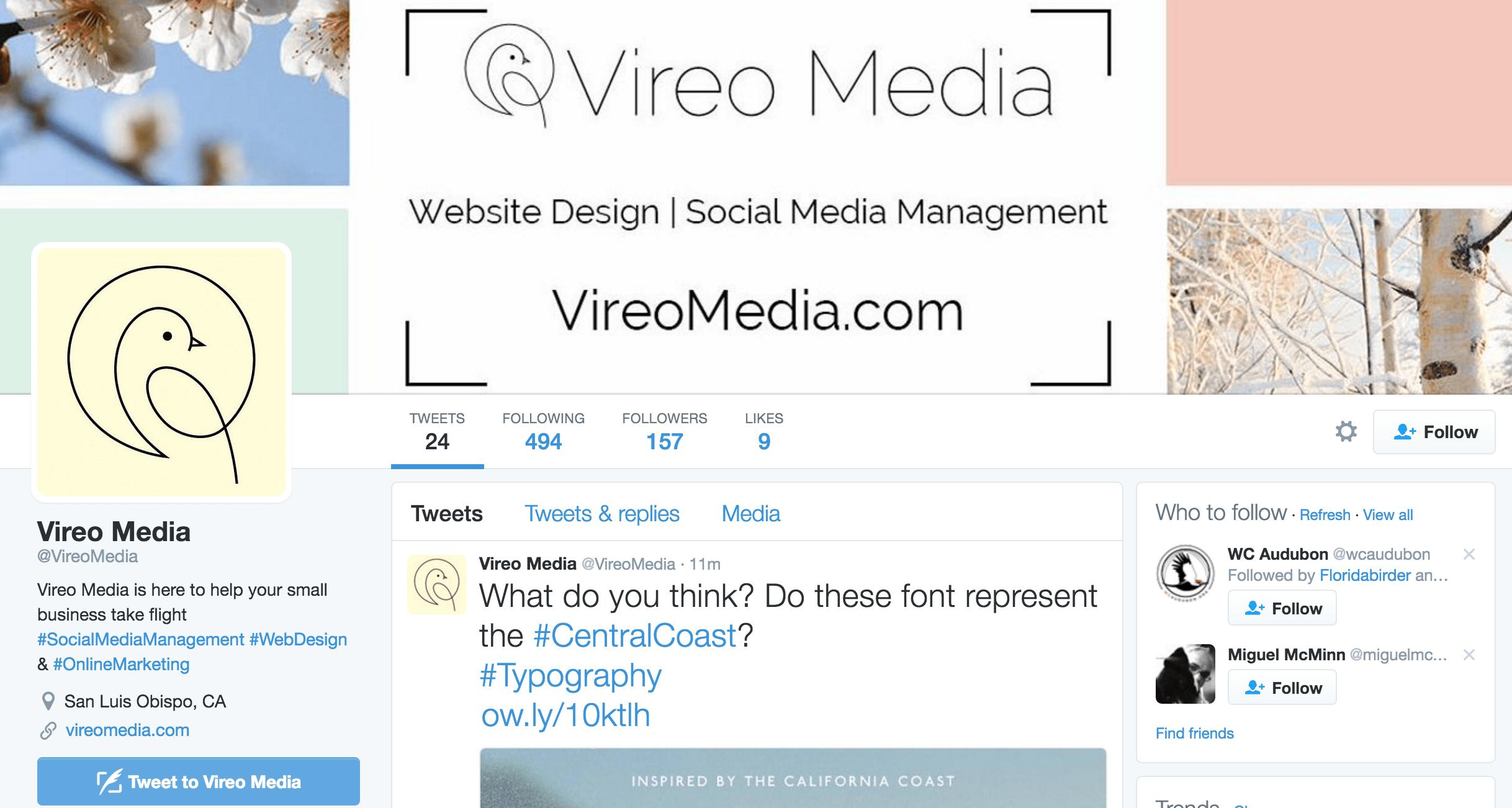 VireoMedia Twitter Header
