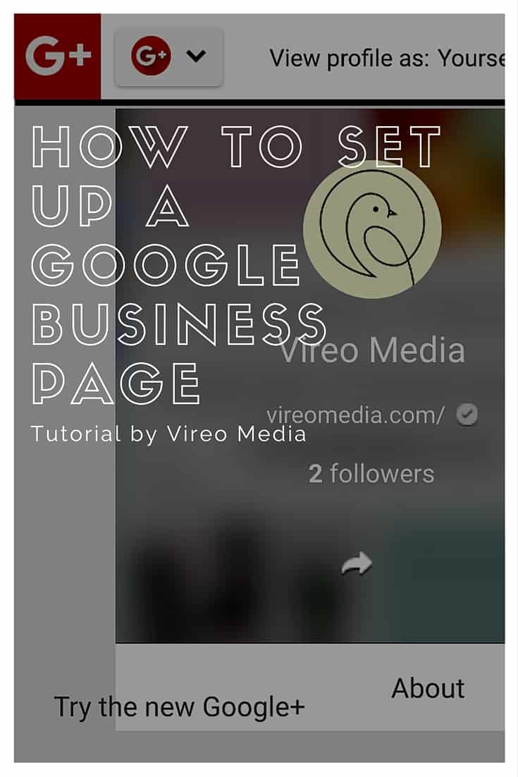 How to set up a google business page