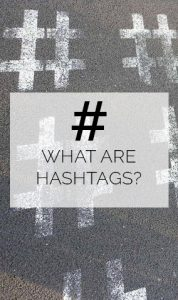 WHAT are hashtags? Pinterest