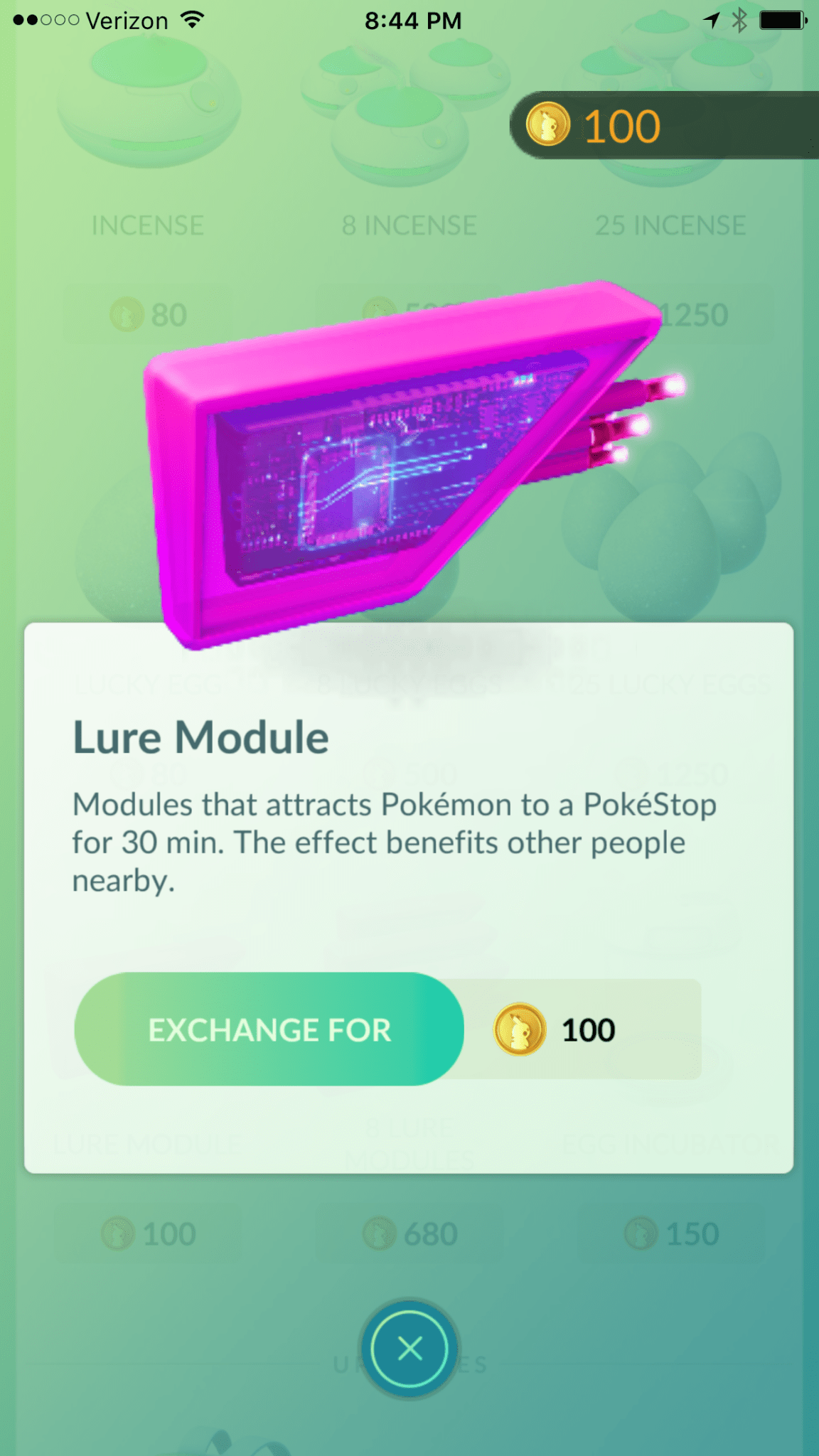 Pokemon Lure - Marketing