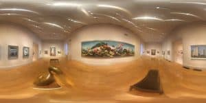 360 Panorama of the National Portrait Gallery in Washington DC