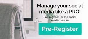 Pre-registration opt-in image for the social media course