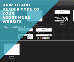 How to Add Header Code to an Adobe Muse Website