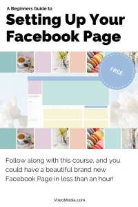 A beginners Guide to setting up your Facebook Page