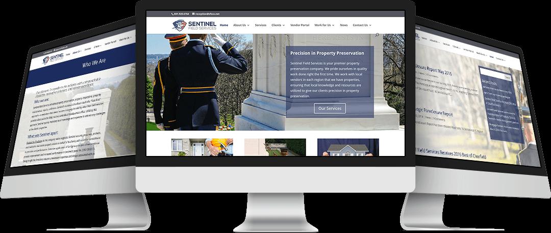 Sentinel Field Services Website Design