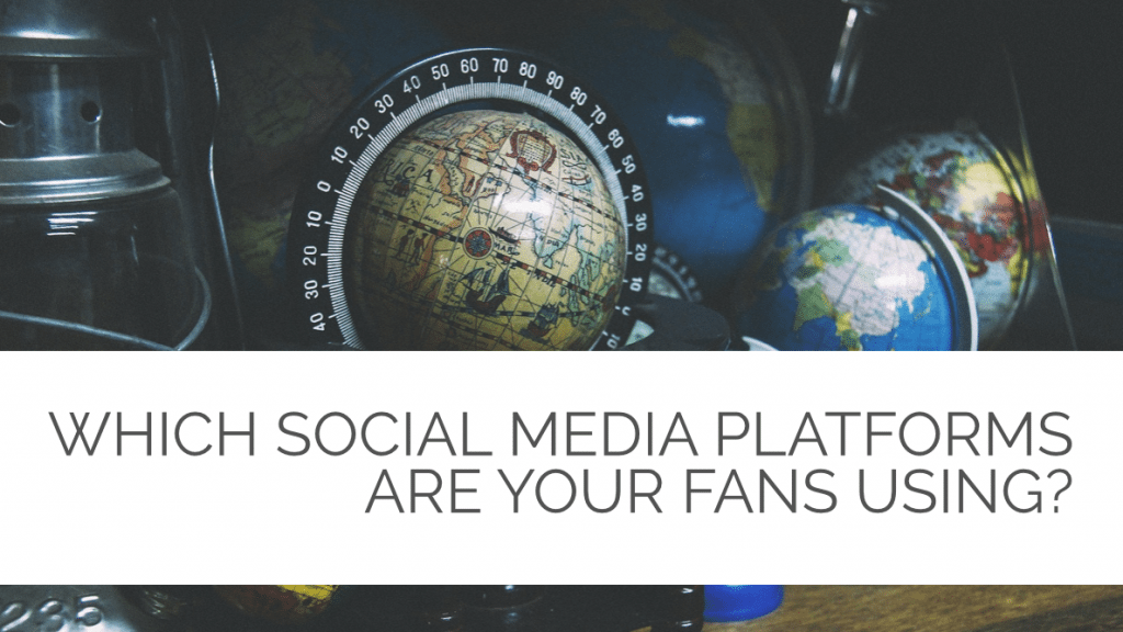 Which Social Media Platforms are your fans using?