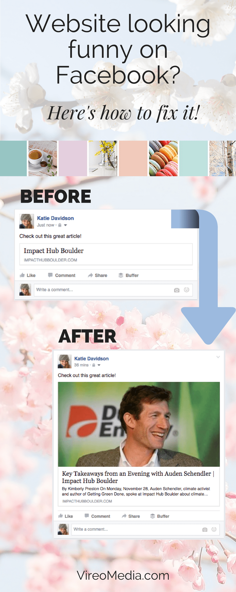 How to make your website look good on Facebook!