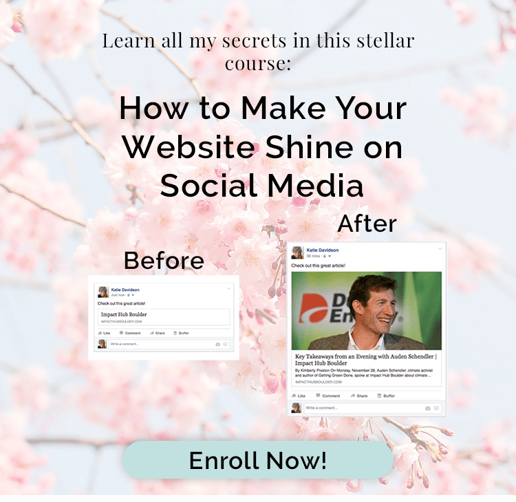 How to make your website Shine on Social Media