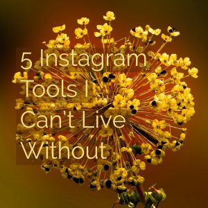 5 Instagram Tools I Can't Live Without