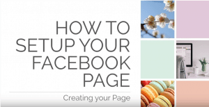 Creating your Page