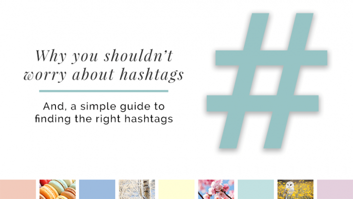 Don't worry about Hashtags