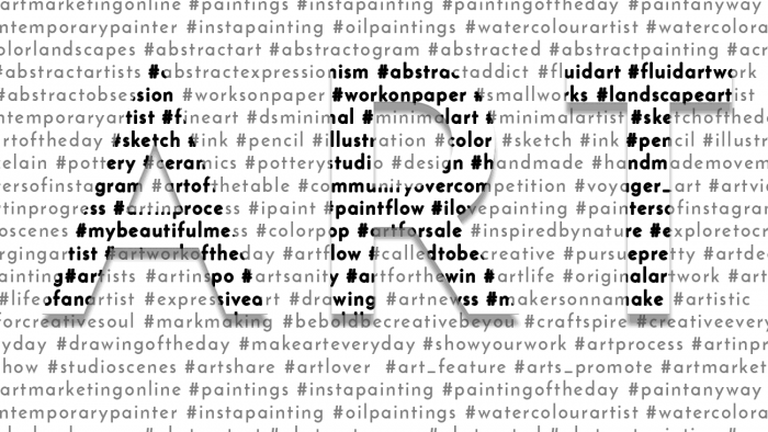 100+ Hashtags for Artists to Help You Sell Your Art
