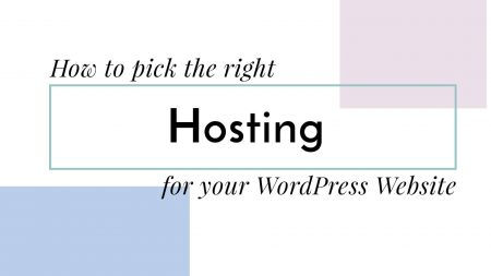 How to pick the right hosting for your wordpress website image