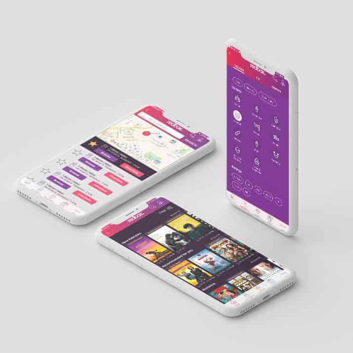 Redbox App Redesign Mockup