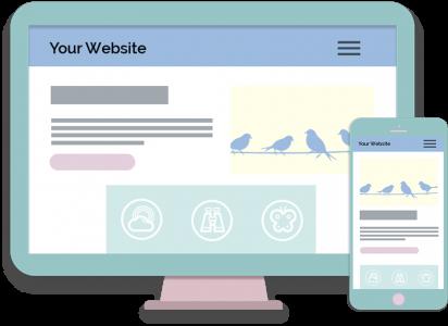 Desktop and Mobile Website Design